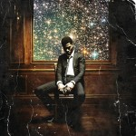"Photo courtesy of hiphop-n-more.com. Album art of Kid Cudi's ""Man On The Moon 2."""