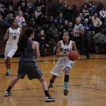 Aliezza Brown '15 trying to avoid the charge