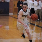 Katie Kish '15 driving the inside
