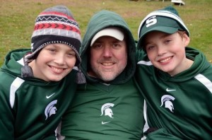 There were a few things Jeff Nardone loved more than anything else: Michigan State and his twin boys.