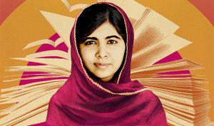 """Yousafzai's story is told in her documentary """"He Named Me Malala"""".  The film premiered Oct. 2 2015.  Photo courtesy of United Nations."""